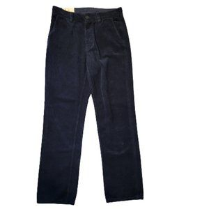 Nudie Jeans Lazy Leo Navy Soft Organic Cotton Cord NWOT